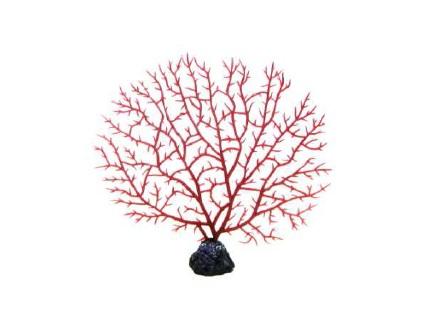 Soma Fish Coral Gorgonia vermelha ( 040033 )