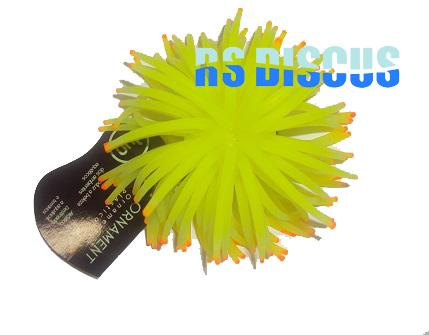Soma Fish Coral Anemona amarela 11 cm ( 040179 )