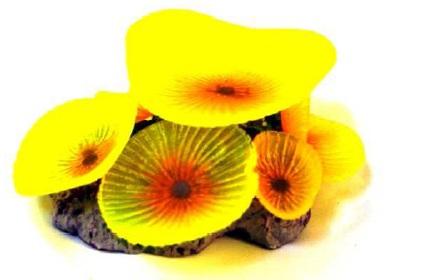 Soma Fish Coral Mushroom Giant amarelo ( 040147 )