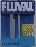 Hagen Fluval Impeller Shaft Assembly 104/204 - ( A-20040 ) (L)