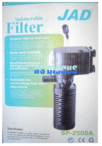 Jad Filtro submerso (bomba/help filter) SP-2500A