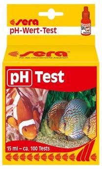 Sera Test pH  - 15 ml - 100 testes (4,5 a 9,0)