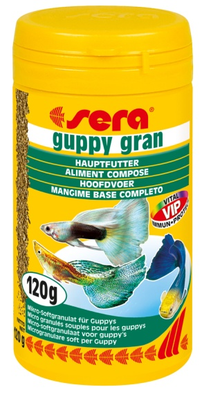 Sera Guppy Gran 120 grs