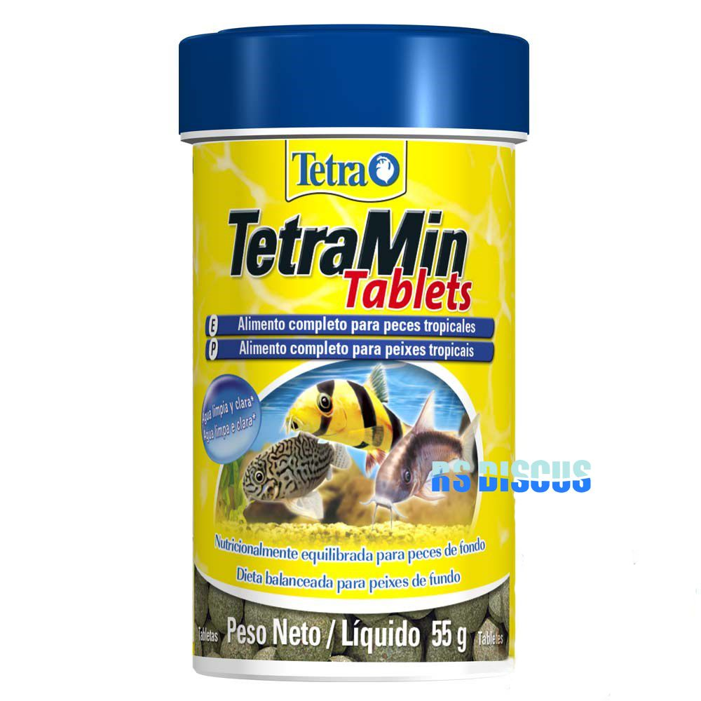 Tetra Min Tablets 55 grs