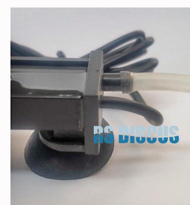 Jy Aqua Cortina de ar com luz de led LQ-700 (26 leds coloridos) 70 cm