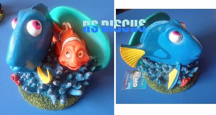 Penn Plax Dory e Marlin gigante (turma do Nemo) NMR24