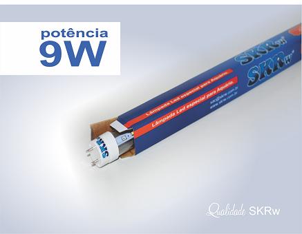 SKRW Lampada Led T8 09W 60 cm ( Azul e Branca )( Novidade )