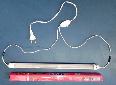 SKRW Lampada Led T8 18 W 120 cm ( Azul e Branca )( Novidade )