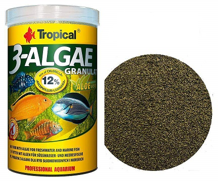 Tropical 3 Algae Granulat 044 grs ( NOVO )