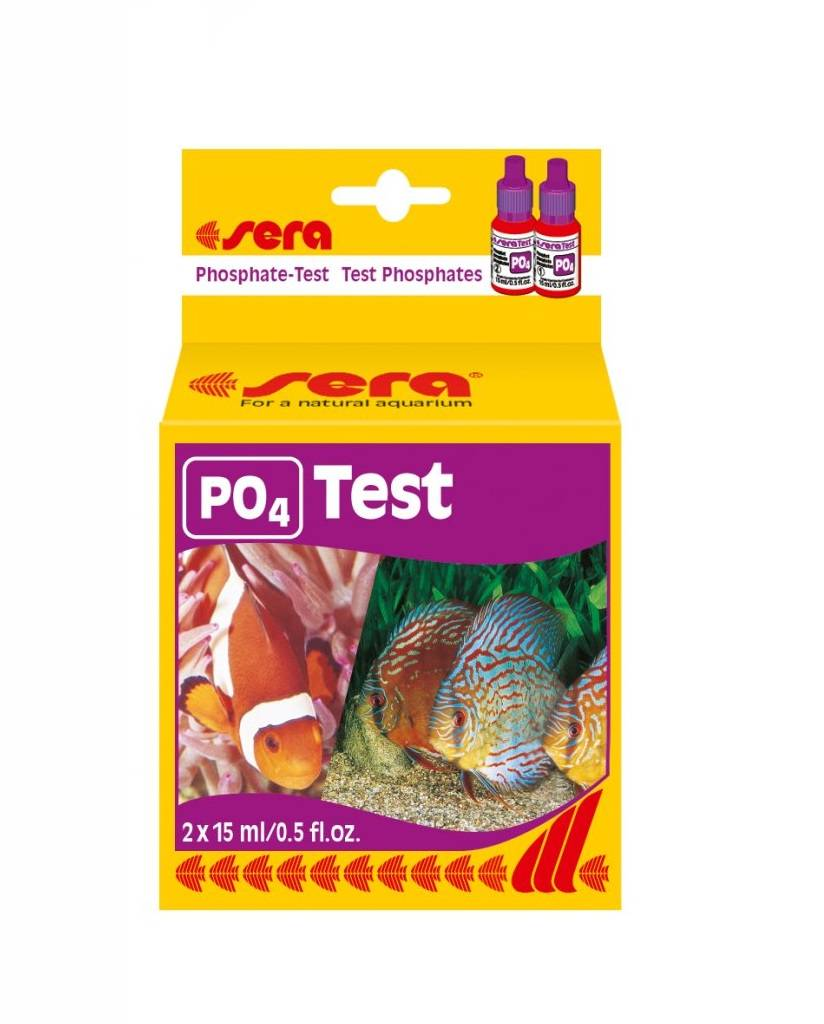 Sera test phosphate (po4) 15 ml