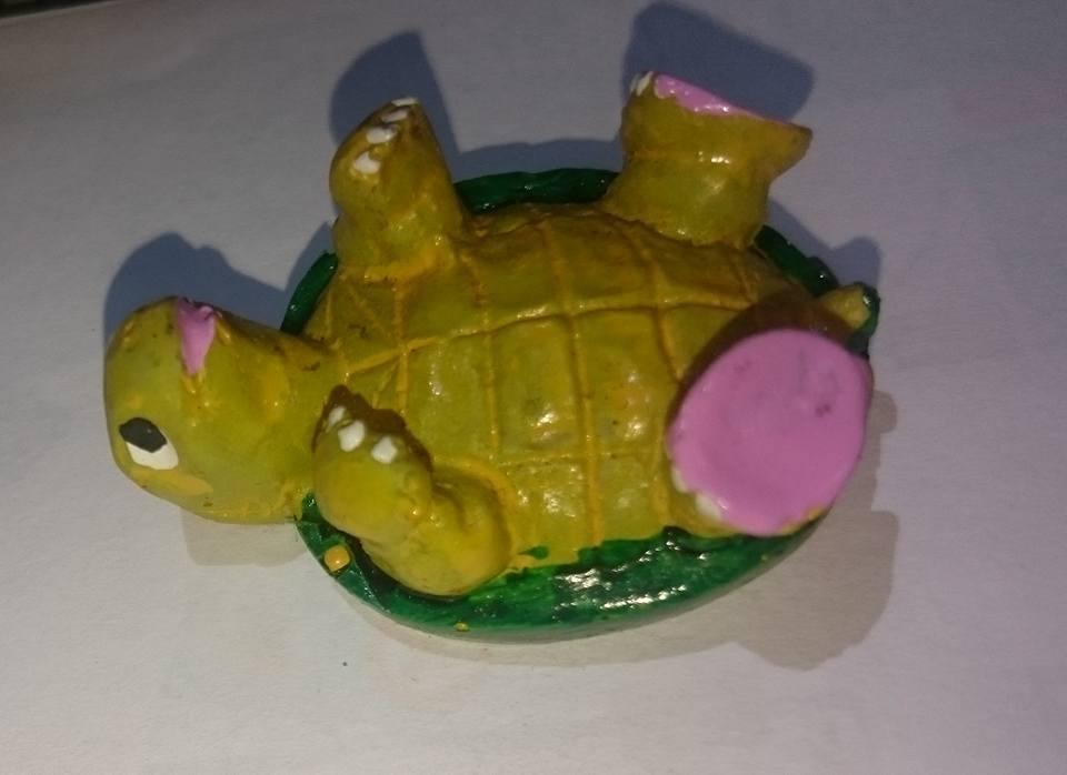 Enfeite de resina tartaruga mini (L) Preço de Custo