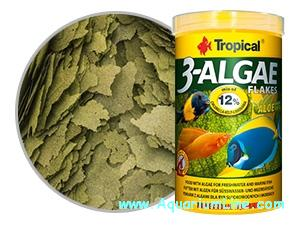 Tropical 3 Algae Flakes 200 grs ( NOVO )