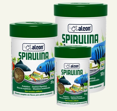 Alcon Gold Spirulina Flakes 10 grs
