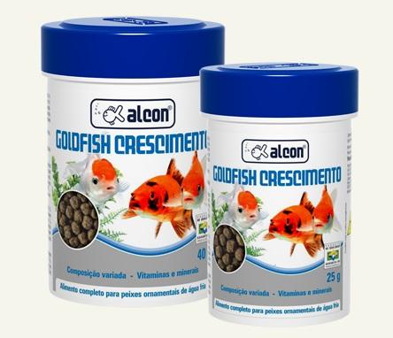 Alcon Goldfish Crescimento 025 grs
