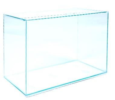 Aquario Retangular vidro 5mm 50 X 25 X 35   43 litros