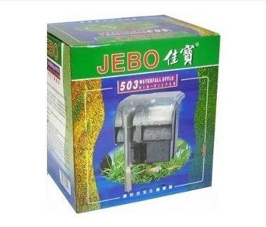 Jebo Filtro Hang-on 503 - 540l/h (aquário de até 108 lts) - 110 V