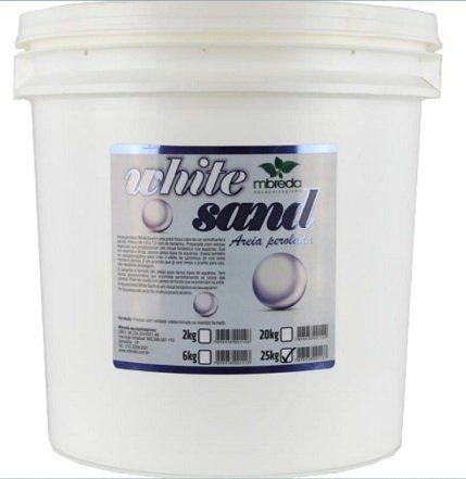 Mbreda Areia Perolada White Sand 7.2  (25 Kg)