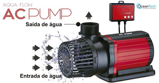 Ocean Tech Aqua Flow Bomba Submersa AC 6000 110 V