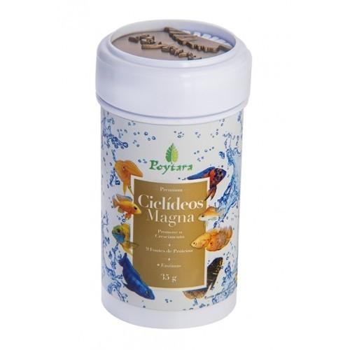 Poytara  Ciclídeos Magna (mini grãos) 035g