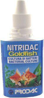 Prodac Suplemento Ativador Biológico Nitridac Goldfish 30 ml  *NOVO*