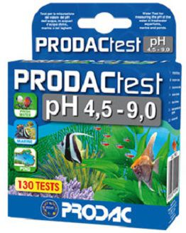 Prodac Teste PH (4.5 - 9.0) - 130 TESTES (DOCE/MARINHO)