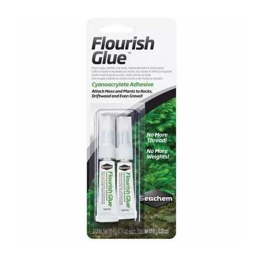 Seachem Flourish Glue 8g (cola para fixar plantas)