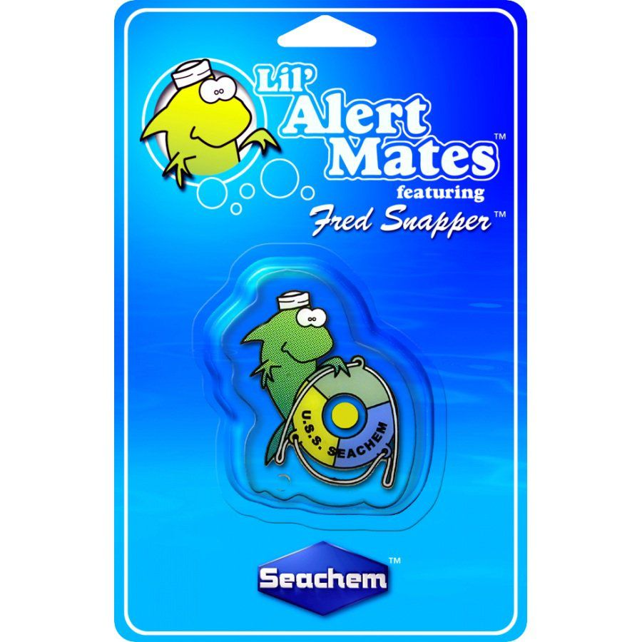Seachem Lil' Alert Mates Fred Snapper (teste permanente de amônia)