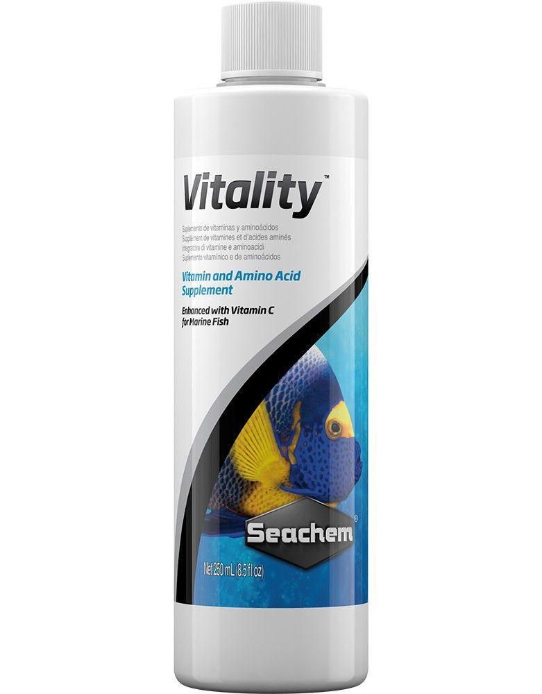 Seachem Vitality 250 ml (NOVO) (L) Preço de Custo