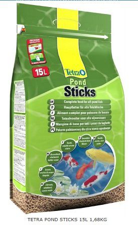 Tetra Pond Sticks 1680 Grs