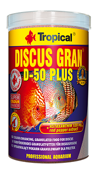 Tropical Discus Gran D-50 Plus 0110 grs