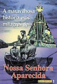 Livro A Maravilhosa Historia e os Milagres de Nossa Senhora Aparecida
