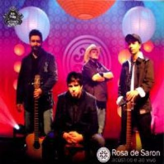 CD Rosa De Saron Acústico E Ao Vivo
