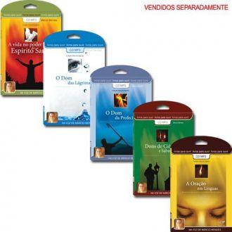 Coleção Dons do Espírito - Livros para ouvir - Márcio Mendes