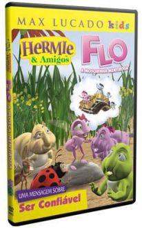 DVD HERMIE & AMIGOS - FLO, A MOSQUINHA MENTIROSA