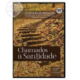 DVD COLETANEA CHAMADOS A SANTIDADE - MONS JONAS ABIB_PADRE LEO_FELIPE AQUINO_PADRE ROGER LUIS_RICARDO SA