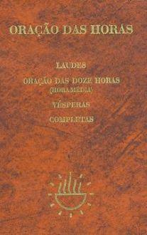 LIVRO ORACAO DAS HORAS ENCADERNADO PAULUS