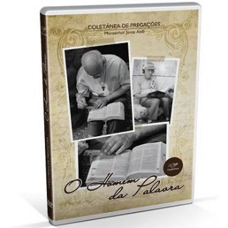 DVD COLETANEA DE PREGACOES O HOMEM DA PALAVRA - MONSENHOR JONAS ABIB
