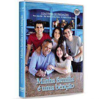 DVD COLETANEA DE PREGACOES DVD DUPLO - MINHA FAMILIA e UMA BENCAO