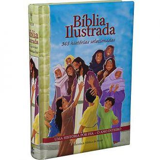 BÍBLIA ILUSTRADA - 365 HISTÓRIAS SELECIONADAS