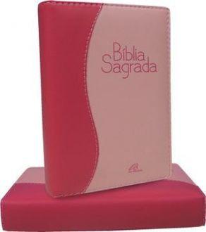 Bíblia Sagrada Nova Tradução na Linguagem de Hoje Média Rosa