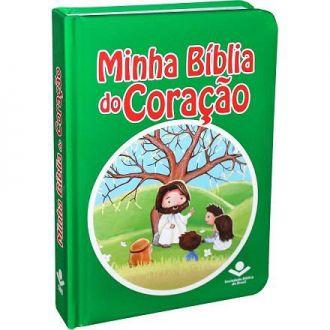 MINHA BÍBLIA DO CORAÇÃO INFANTIL PARA CRIANÇAS CAPA COLORIDA