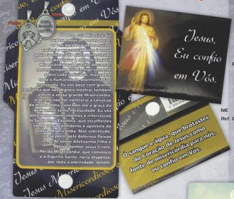 LEMBRANÇA CARTÃO JESUS MISERICORDIOSO