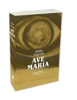 BIBLIA SAGRADA CATOLICA AVE MARIA LETRA GRANDE MAIOR BROCHURA
