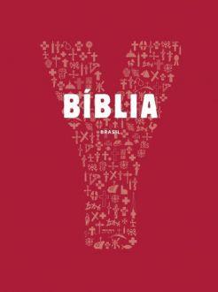 LIVRO BIBLIA JOVEM YOUCAT CAPA CRISTAL VERMELHA