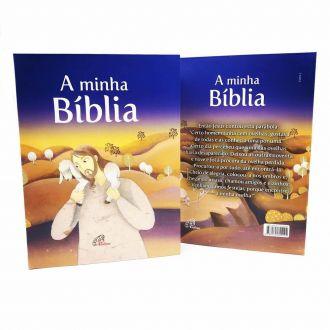 Bíblia Sagrada Infantil A Minha Bíblia