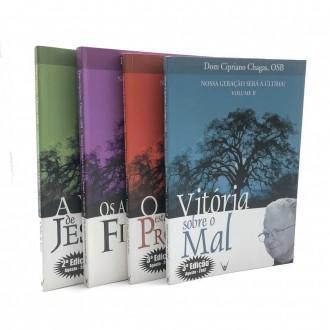 Coleção Livros Nossa Geração Será a Última - Dom Cipriano Chagas (4 Volumes)
