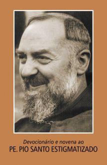 Livro Devocionário e novena ao Padre Pio Santo Estigmatizado
