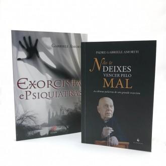 Kit Livros Padre Gabriele Amorth - Não te Deixes Vencer Pelo Mal