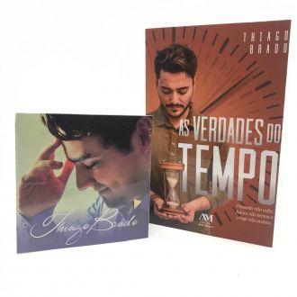 Kit Thiago Brado - Cd Minhas Essência + Livro As Verdades do Tempo