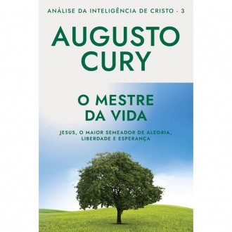 Livro O Mestre da Vida Análise da Inteligencia: Augusto Cury